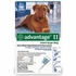 Advantage II for Dogs 55 lbs and Up 4 Month Supply BLUE