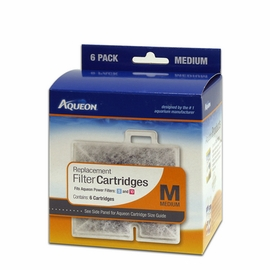 Aqueon Medium Replacement Cartridge 6 Pack