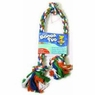 Aspen 3 Knot Rope Tug, X-Large Multicolor