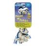 Aspen Booda Fresh N Floss Wintergreen 2 Knot Bone Rope Dog Toy- Large