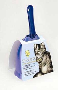 Aspen Booda Scoop And Hide Cat Litter Scoop Storage Solution