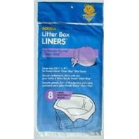 Aspen Dome Litter Box Clean Step Liner, 8 Pack