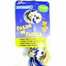 Aspen Fresh-N-Floss Wintergreen 2 Knot Dog Bone- X-Small