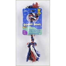 Aspen Pet Booda Multicolor Mini Rope Bone For Dogs Up To 8 lbs