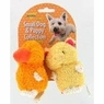 Aspen Terry Puppy 2 Pack Duck & Pig
