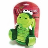 Aspen Velveteen Gator Dog Toy, Medium Green