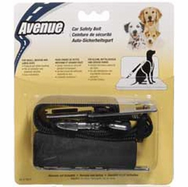 Avenue Nylon Safe-T-Belt, Medium, Black