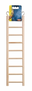 (B1503) Living World Wooden Ladder, 9 Steps
