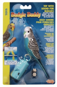 (B1695) Living World Life-Size Singing Parakeet