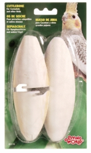 (B2178) Living World Cuttlebone, Large Twin Pack (Carded)