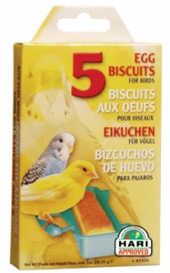 (B2450) Living World Egg Biscuits (5/pack)