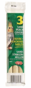 (B327) Living World Sanded Perch Refill for Cockatiels (2/Pack)