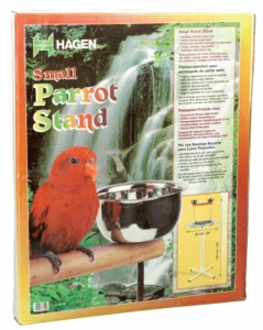 "(B7150) Living World Parrot Stand, Small (19.5"" Dia. x 49.25""H)"