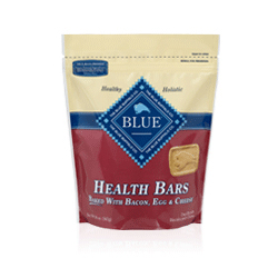 Blue Buffalo Health Bars with Bacon, Egg and Cheese Treats For Dogs 18-oz pouch