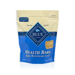 Blue Buffalo Health Bars with Chicken Liver Treats For Dogs 18-oz pouch