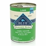 Blue Buffalo Lamb & Brown Rice Canned Dog Food 12/12.5-oz cans
