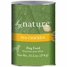 By Nature Natural 95% Meat Chicken Formula Canned Dog Food 12/13-oz cans