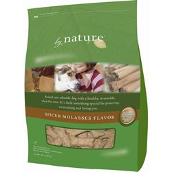 By Nature Natural Spiced Molasses Flavor Dog Biscuits 20-oz bag - 6-pack