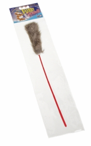 (C1392) Catit Fur Tail w/Plastic Pole