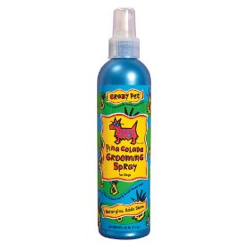 Cardinal Crazy Dog Pina Colada Grooming Spray 8 Oz
