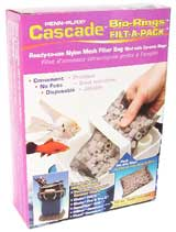 Cascade Bio-Rings Filt-A-Pack Pre-Filter Ceramic rings