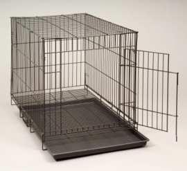 "(D674) Dogit Animal Cage, Large (36""W x 23""L x 26""H)"