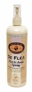 De Flea Pet & Area Spray 16oz by Natural Chemistry