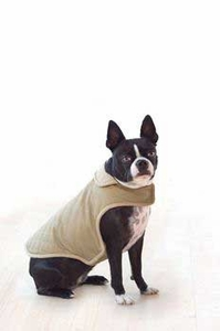 Dog Smart Khaki Quilted Jacket 12 inch