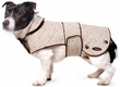 Dog Smart Khaki Quilted Jacket 16 inch