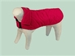 Dog Smart L Red Quilted Jacket 18 inch