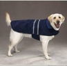 Dog Smart M Navy Jacket Ecru Piping 14 inch