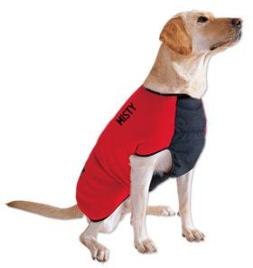 Dog Smart Olive Quilted Jacket 16 inch