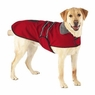 Dog Smart Red Jacket Ecru Piping 12 inch