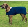 Dog Smart XL Brown Jacket Ecru Piping 22 inch