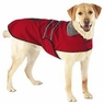 Dog Smart XS Red Jacket Ecru Piping 8 inch
