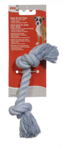 Dogit Blue Cotton Rope Bone, Medium