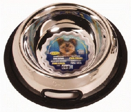 Dogit Stainless Steel Non-Spill Dog Dish, 16 oz.