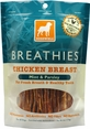 """Dogswell Chicken Breast Treats """"Breathies"""" 15oz Bag"""