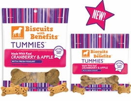 Dogswell Tummies Cranberry Apple Biscuits 10 oz