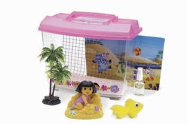Dora The EXplorer - Hermit Crab Adventure Kit Tank Lid With Handle Climbing Grid