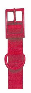 """Double Ply Nylon Dog Collar 1"""" Width by Four Paws - 28"""""""