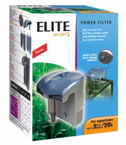 Elite Hush 5 Power Filter, UL Listed