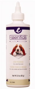 Essentials Ear Powder for dogs, 2.8 oz.