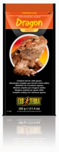 Exo-Terra Bearded Dragon Adult Food, 11.5 oz.