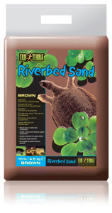 Exo-Terra Riverbed Sand, Amber, 10 lbs.