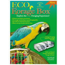 Fibercore Eco-Forage Pak For Birds 6 Pack Bag