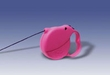 Flexi Mini Pink Handle Retractable Leash