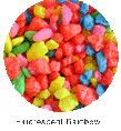 Fluorescent  Rainbow Wonder Rock 5 lb Bag by Kordon