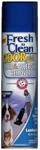 Fresh n Clean Odor Plus Hair and Allergen Remover 15oz Foam for Carpeting