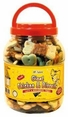 Giant Chicken & Biscuits Dog Treats from PCI 2.75 Lb (44 oz) Canister